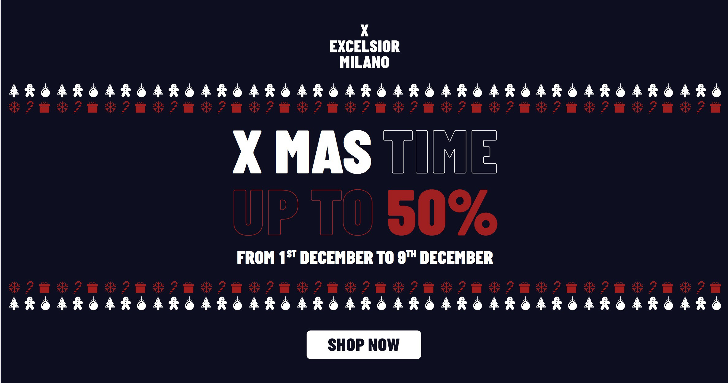 5b5ac3051 HURRY UP !! Just for the next few days enjoy up to 50% off a curated  selection of Top Brands  from December 01 till December 09  nb.