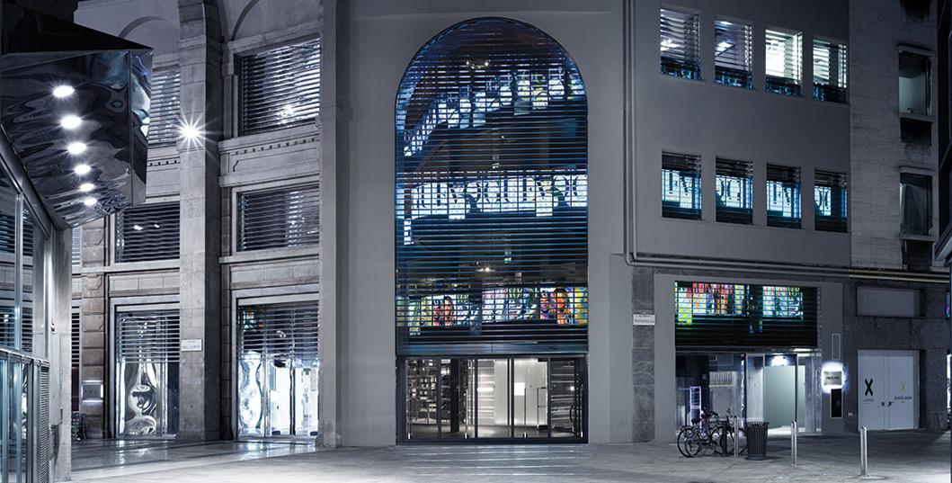 Excelsior milano for Store design milano
