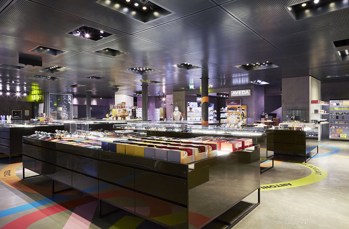 Floors excelsior milano for Tiffany excelsior milano